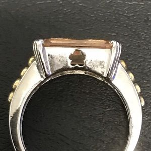 Jewelry - Sterling & citrine ring